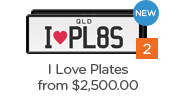 Show what you love with limited edition I Love Plates, available for $2,500 this February only.