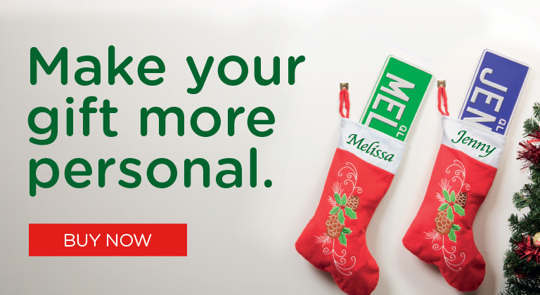 Make your gift more personal