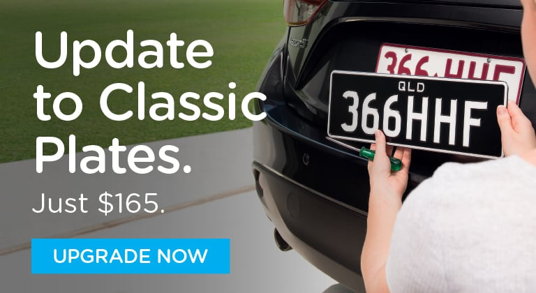 Update to Classic Plates. Just $165. UPGRADE NOW