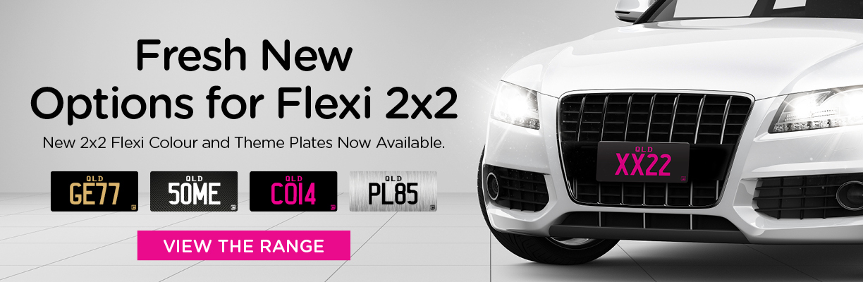 Fresh New Options for Flexi 2x2 - New 2x2 Flexi Colour and Theme Plates Now Available.