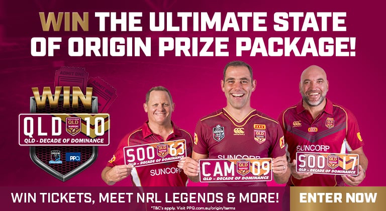 Win the ultimate State of Origin prize package