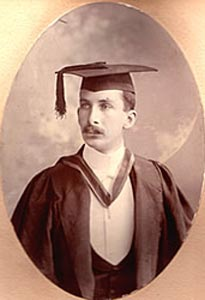 Alex Marks as a young man