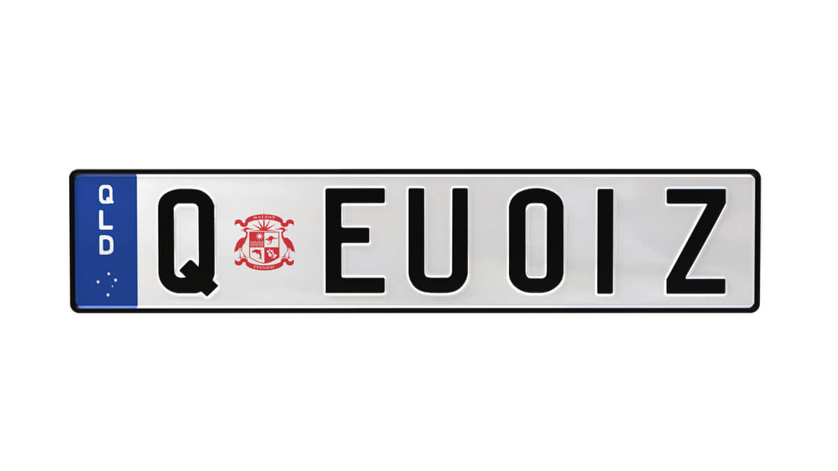 Preview of a Euro Classic plate